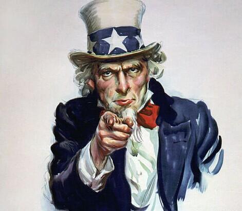 """大叔""""这一绰号产生于1812年美英战争时期美国"""